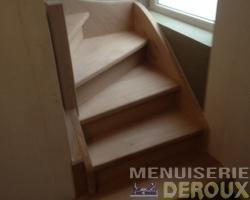 Menuiserie Deroux - Escaliers sur mesure